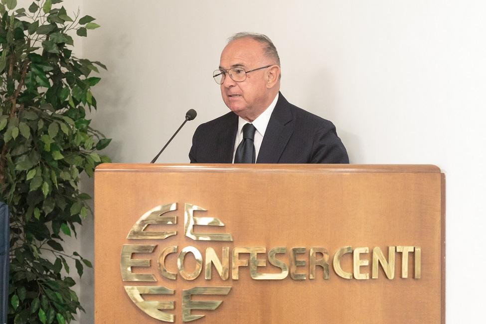 Il Presidente di Confesercenti Nazionale Massimo Vivoli