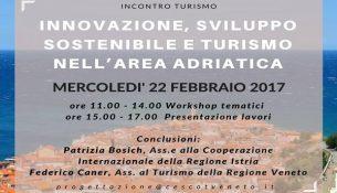 """Ce.S.Co.T-Confesercenti Veneto organizza il seminario""""Innovazione,sviluppo sostenibile e turismo area adriatica"""""""