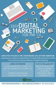 Confesercenti Roma: al via corso di Digital Marketing per PMI