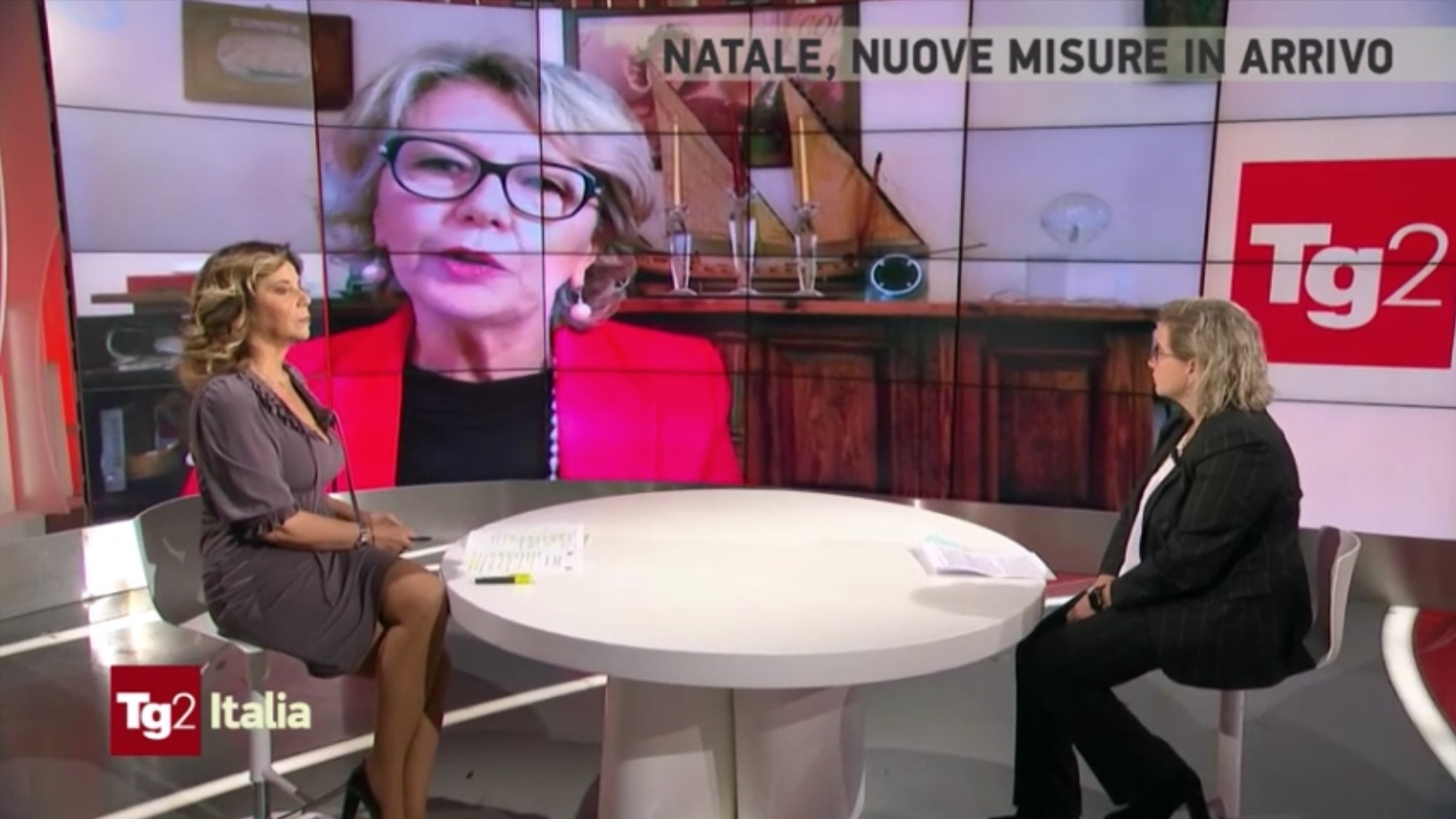 La presidente De Luise ospite di Tg2 Italia