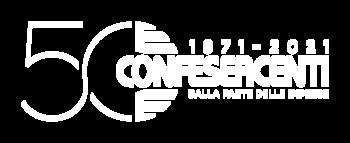 logo Confesercenti 50 anni